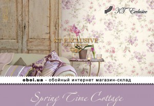Обои KT Exclusive Spring Time Cottage