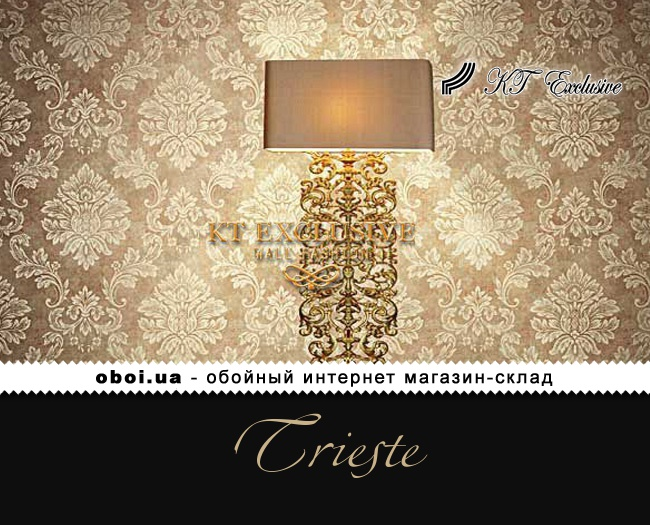 Бумажные обои с акриловым покрытием KT Exclusive Trieste