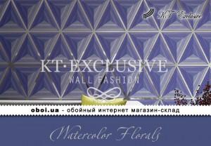 Обои KT Exclusive Watercolor Florals