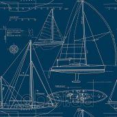 Обои KT Exclusive Yacht Club yc61312