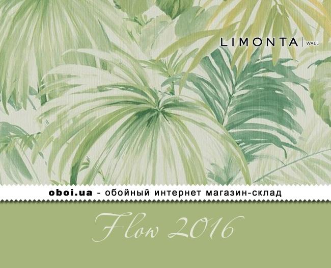 Вінілові шпалери на флізеліновій основі Limonta Flow 2016