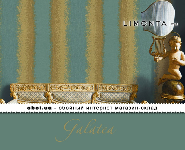 Вінілові шпалери на паперовій основі Limonta Galatea
