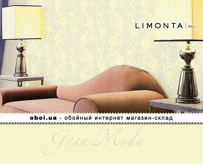 Виниловые обои на бумажной основе Limonta Gran Moda