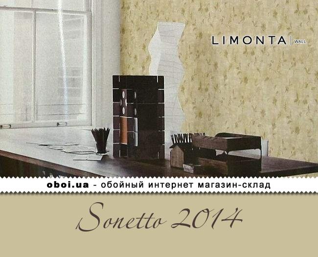 Виниловые обои на бумажной основе Limonta Sonetto 2014
