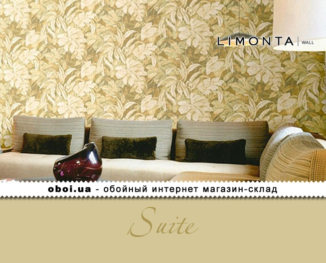 Вінілові шпалери на паперовій основі Limonta Suite