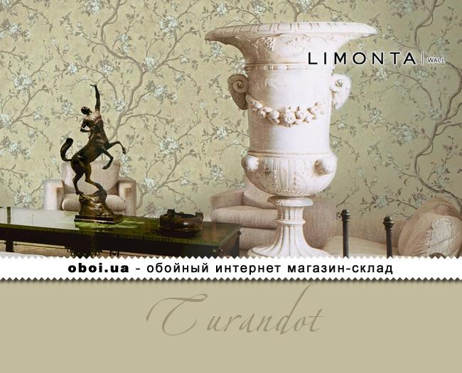 Виниловые обои на флизелиновой основе Limonta Turandot