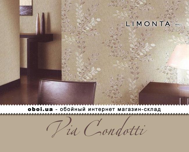 Виниловые обои на бумажной основе Limonta Via Condotti