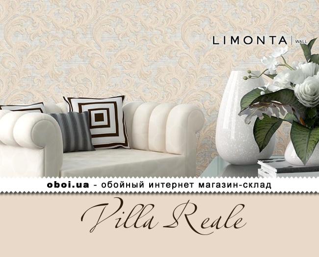 Вінілові шпалери на флізеліновій основі Limonta Villa Reale