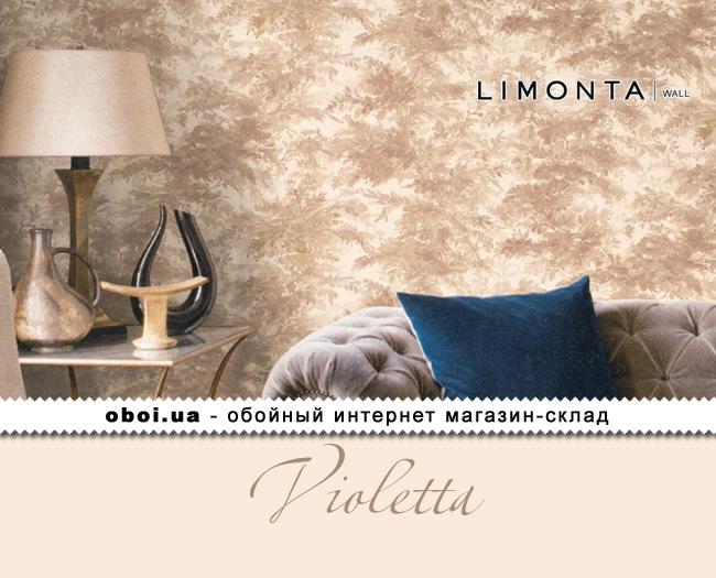 Виниловые обои на флизелиновой основе Limonta Violetta