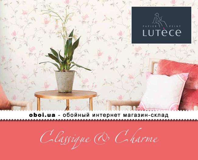 Вінілові шпалери на флізеліновій основі Lutece Classique & Charme