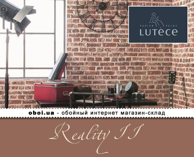 Вінілові шпалери на флізеліновій основі Lutece Reality II