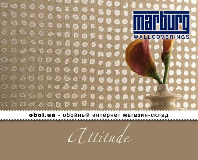 Вінілові шпалери на флізеліновій основі Marburg Attitude