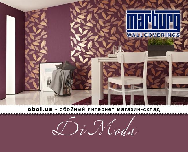 Виниловые обои на флизелиновой основе Marburg Di Moda