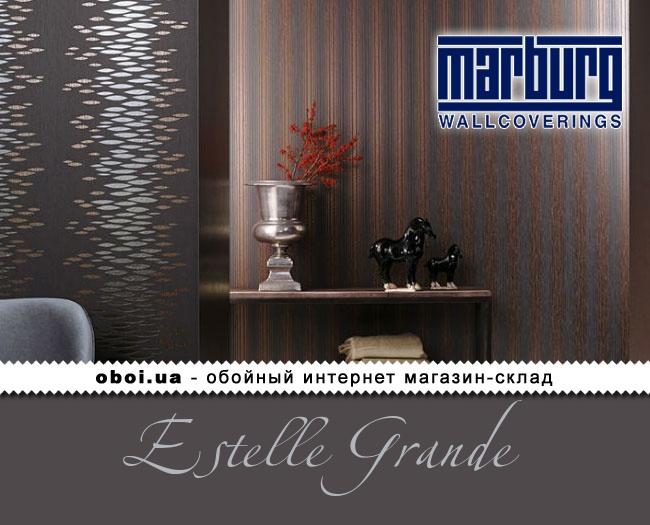 Вінілові шпалери на флізеліновій основі Marburg Estelle Grande