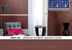 Обои Marburg Light Story Chateau