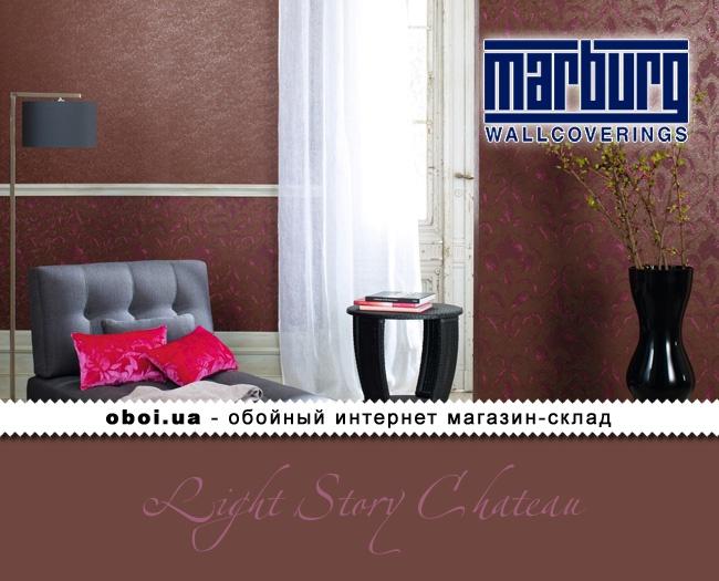 Виниловые обои на флизелиновой основе Marburg Light Story Chateau