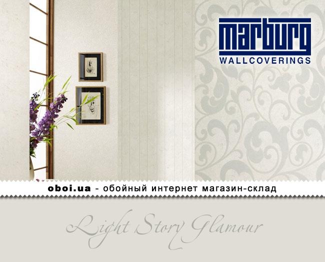 Вінілові шпалери на флізеліновій основі Marburg Light Story Glamour