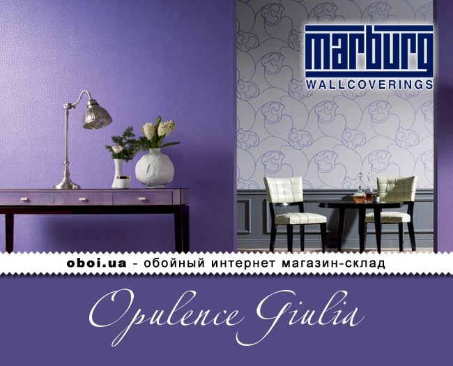 Вінілові шпалери на флізеліновій основі Marburg Opulence Giulia