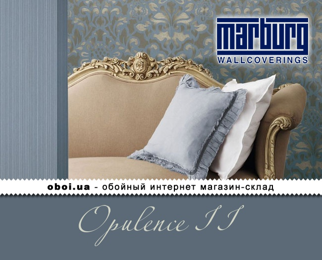 Виниловые обои на флизелиновой основе Marburg Opulence II