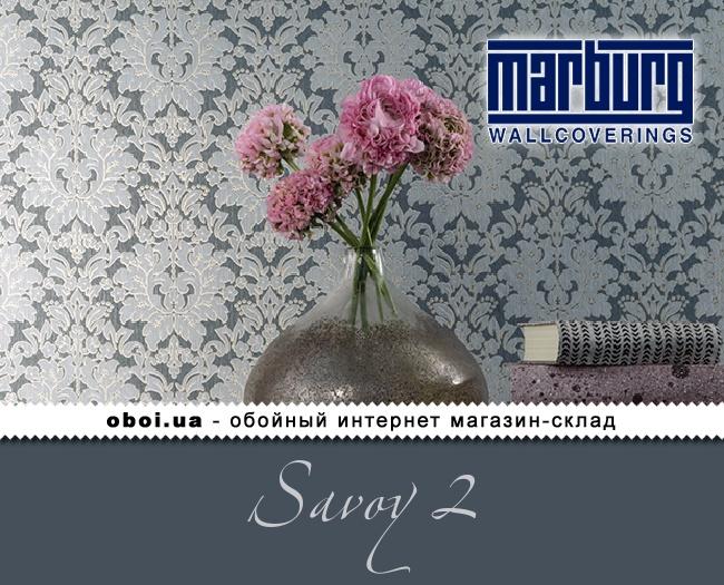 Вінілові шпалери на флізеліновій основі Marburg Savoy 2