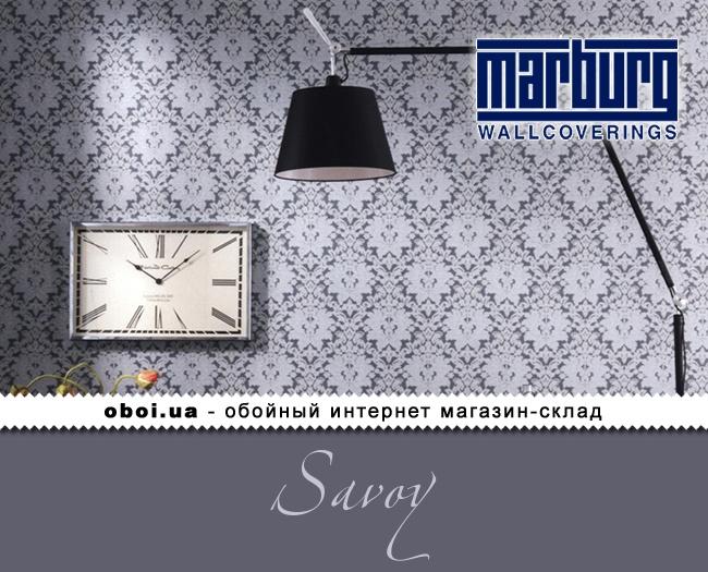 Виниловые обои на флизелиновой основе Marburg Savoy
