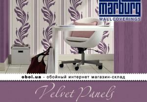Обои Marburg Velvet Panels