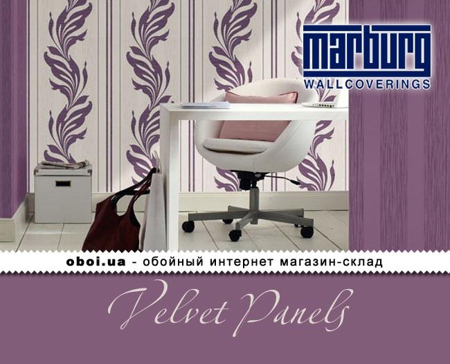 Вінілові шпалери на флізеліновій основі Marburg Velvet Panels