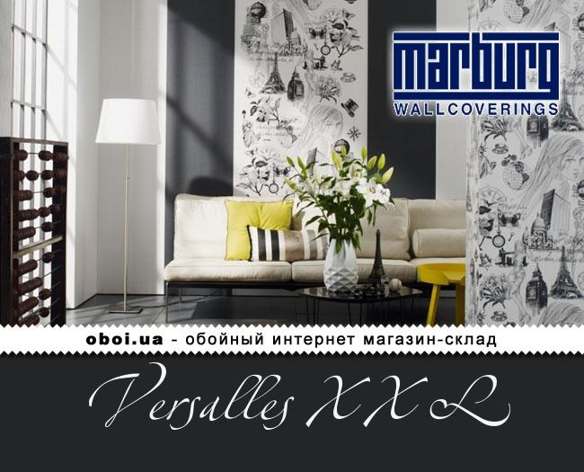 Вінілові шпалери на флізеліновій основі Marburg Versalles XXL