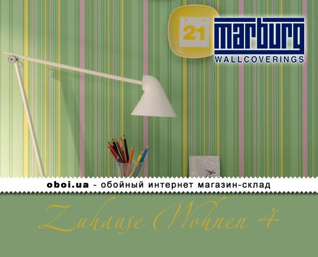 Вінілові шпалери на флізеліновій основі Marburg Zuhause Wohnen 4
