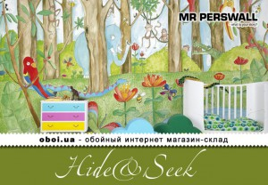 Шпалери MR.Perswall Hide&Seek