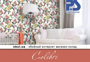 Обои P+S international Colibri