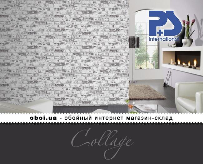 Вінілові шпалери на флізеліновій основі P+S international Collage