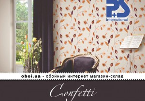 Обои P+S international Confetti