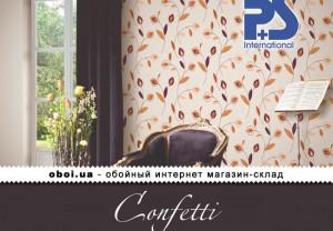 Обои P+S international Confetti