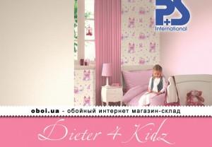 Обои P+S international Dieter 4 Kidz