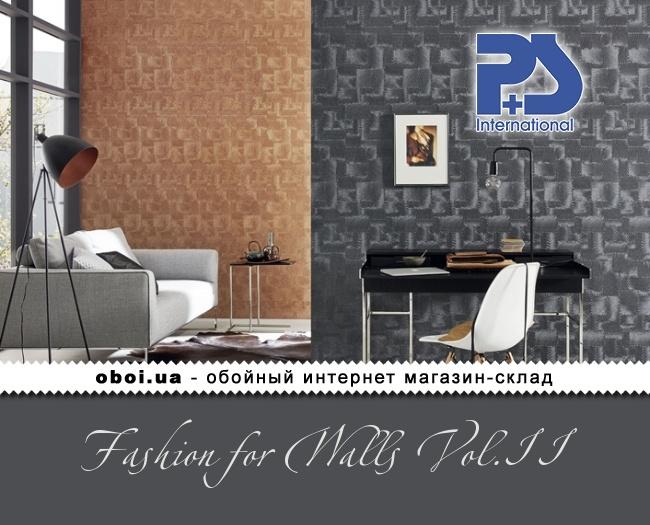 Вінілові шпалери на флізеліновій основі P+S international Fashion for Walls Vol.II