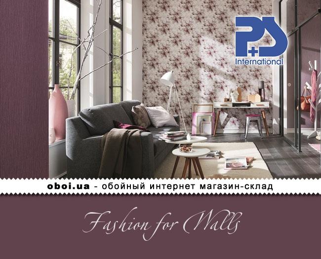 Вінілові шпалери на флізеліновій основі P+S international Fashion for Walls