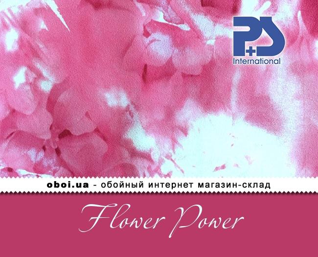Вінілові шпалери на флізеліновій основі P+S international Flower Power