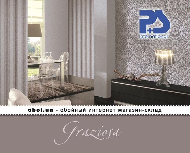 Вінілові шпалери на флізеліновій основі P+S international Graziosa