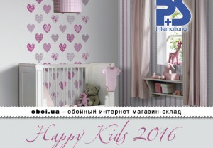 Обои P+S international Happy Kids 2016