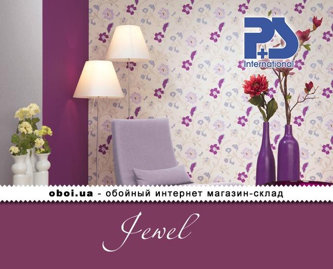 Флизелиновые обои P+S international Jewel