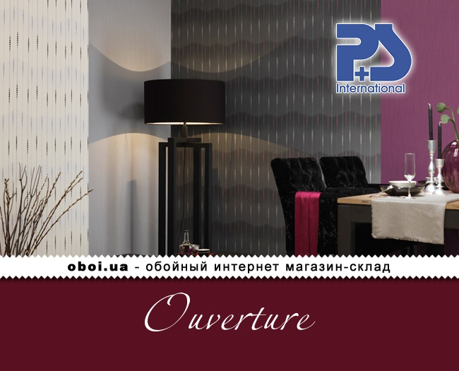 Флізелінові шпалери P+S international Ouverture
