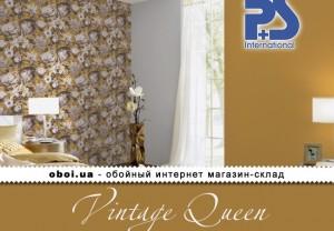 Обои P+S international Vintage Queen