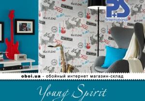 Обои P+S international Young Spirit