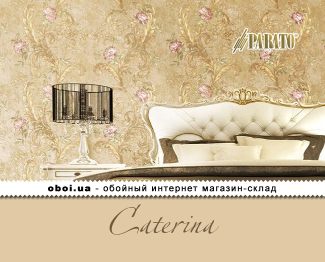 Виниловые обои на флизелиновой основе Parato Caterina