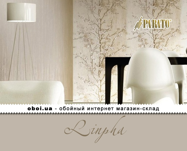 Вінілові шпалери на флізеліновій основі Parato Linpha
