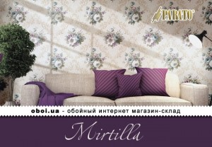 Обои Parato Mirtilla