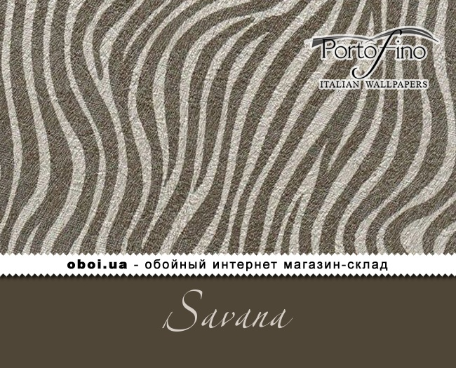 Вінілові шпалери на паперовій основі Portofino Savana