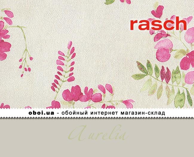 Вінілові шпалери на флізеліновій основі Rasch Aurelia