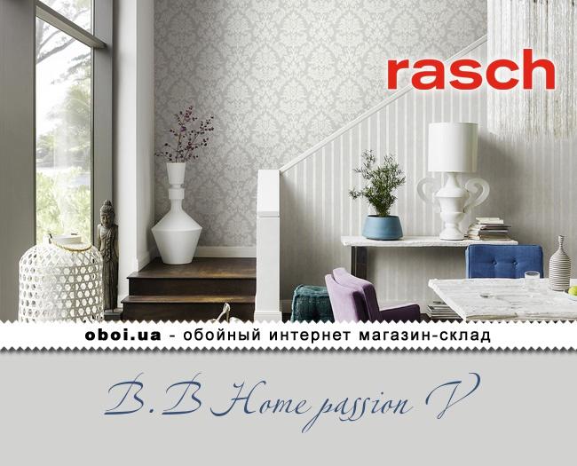 Вінілові шпалери на флізеліновій основі Rasch B.B Home passion V